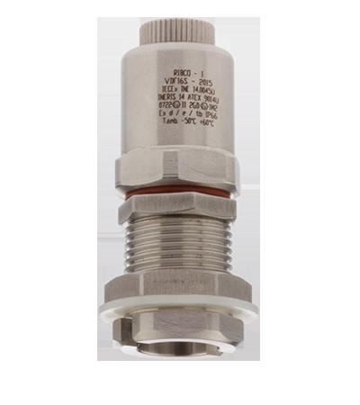 Draining valve VDF for hazardous area