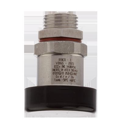 Breathing valve for hazardous area