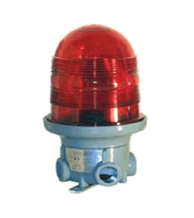 Lighting signaller LP for hazardous area