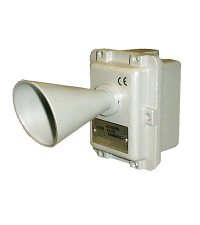 Acoustic signaller ETH for hazardous area